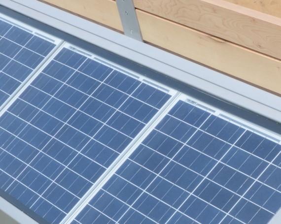 plně ostrovní solární systém